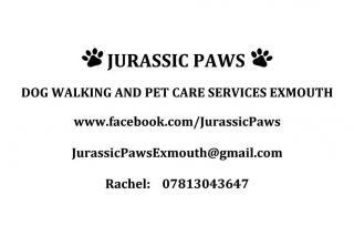 Jurassic Paws logo