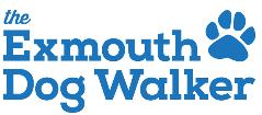 The Exmouth Dog Walker logo