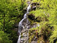 Canonteign Falls on Dartmoor National Park