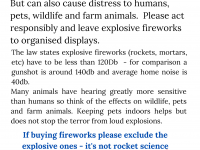 Poster about fireworks