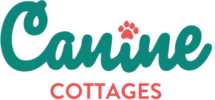 Canine cottages business logo