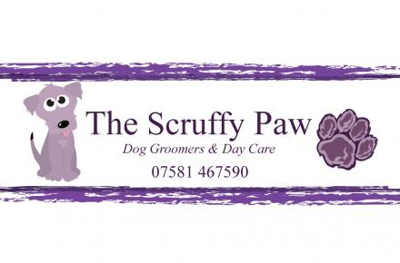 The Scruffy Paw logo