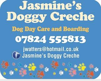 Jasmine's Doggy Creche logo