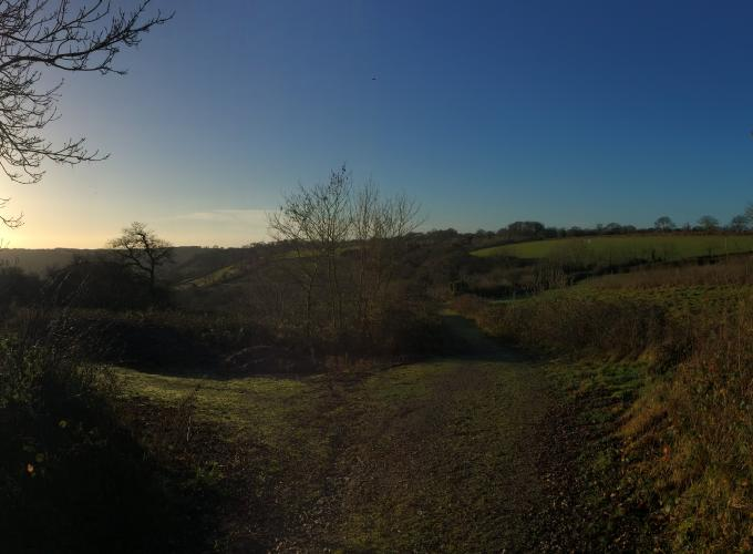 View from the East Devon Way